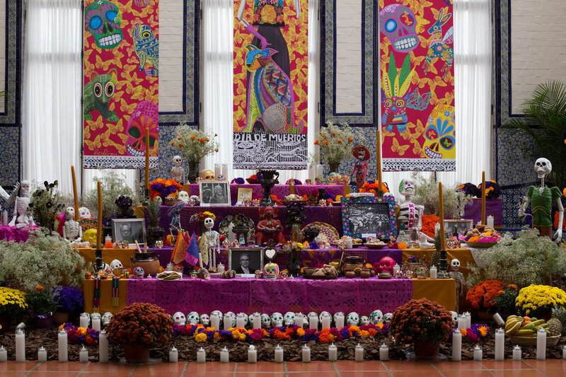 Day Of The Dead Thrives In Us And Mexico Npr