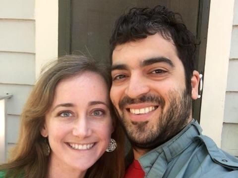 hispanic man dating white woman
