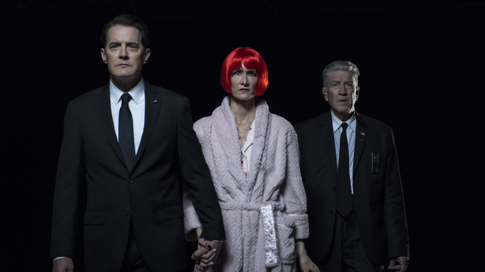 It's Dead ... Wrapped (Up) in Hardcover: A new book provides the narrative closure that this summer's<em> Twin Peaks: The Return</em> (starring Kyle MacLachlan, Laura Dern and David Lynch) eschewed. (Showtime)