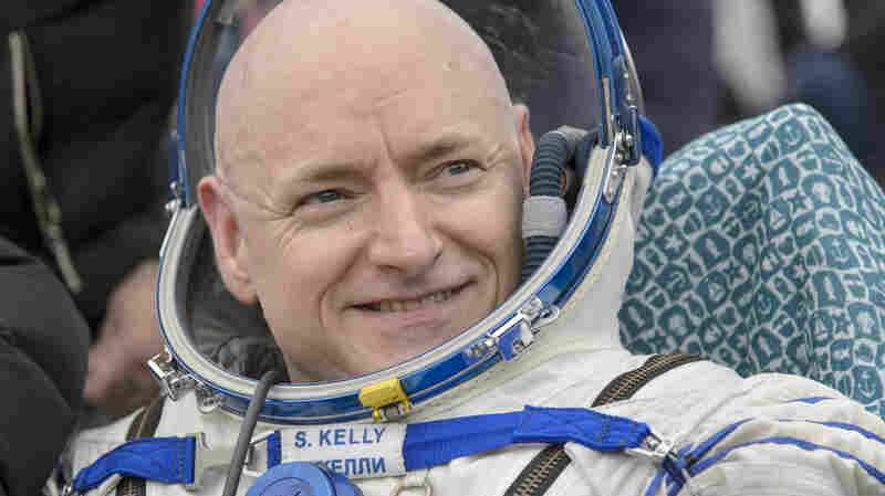 Commander Scott Kelly of NASA landed in Kazakhstan after spending nearly a year aboard the International Space Station.