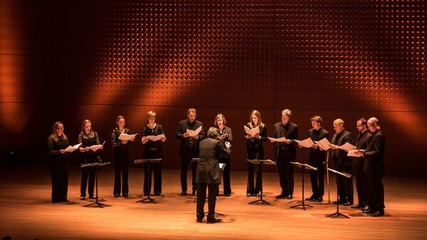 The Tallis Scholars, one of four choir groups who will be performing at Lincoln Center