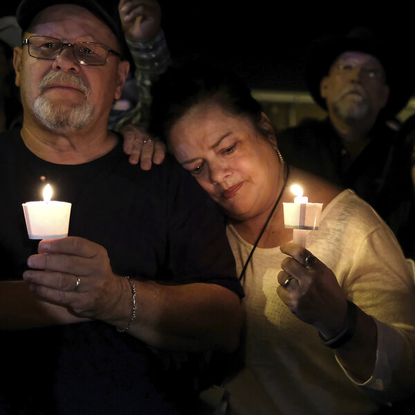 A Small Texas Town Mourns An Enormous Loss, In Photos