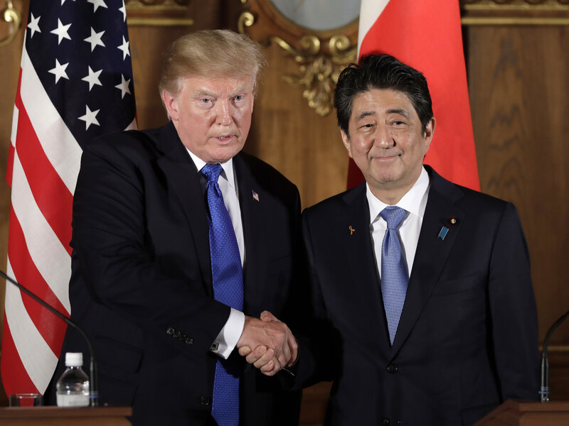 Trump Signs Trade Deal With Japan