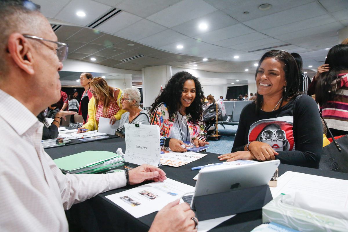 orlando opens its doors to students and teachers from puerto rico npr ed npr. Black Bedroom Furniture Sets. Home Design Ideas
