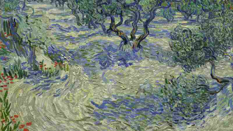 The Grasshopper In The Van Gogh