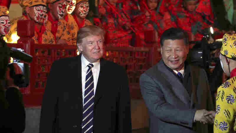 Taiwan Watches Anxiously As President Trump Begins His China Visit