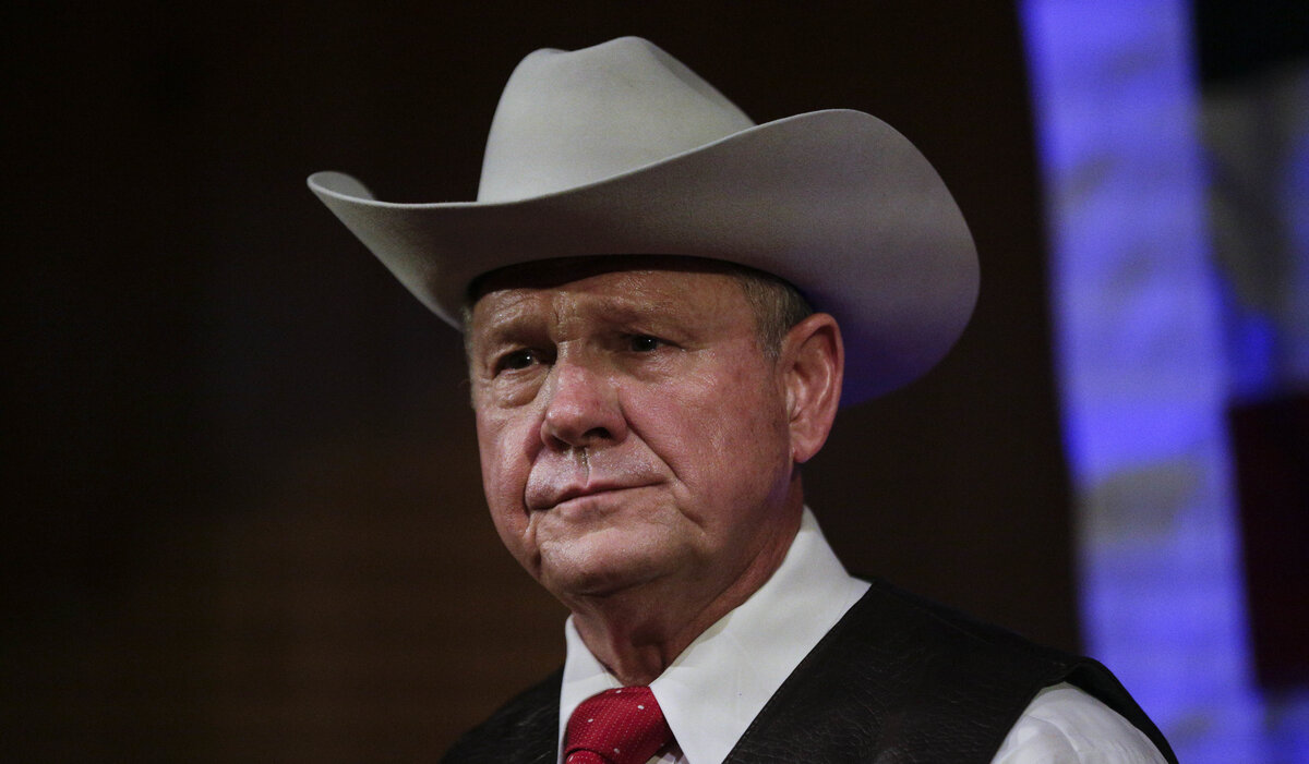 Roy Moore accused of sexual assault on 14 year old