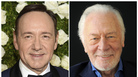 Kevin Spacey at the Tony Awards in New York in June (left) and Christopher Plummer during a portrait session in Beverly Hills, Calif., in July 2013.