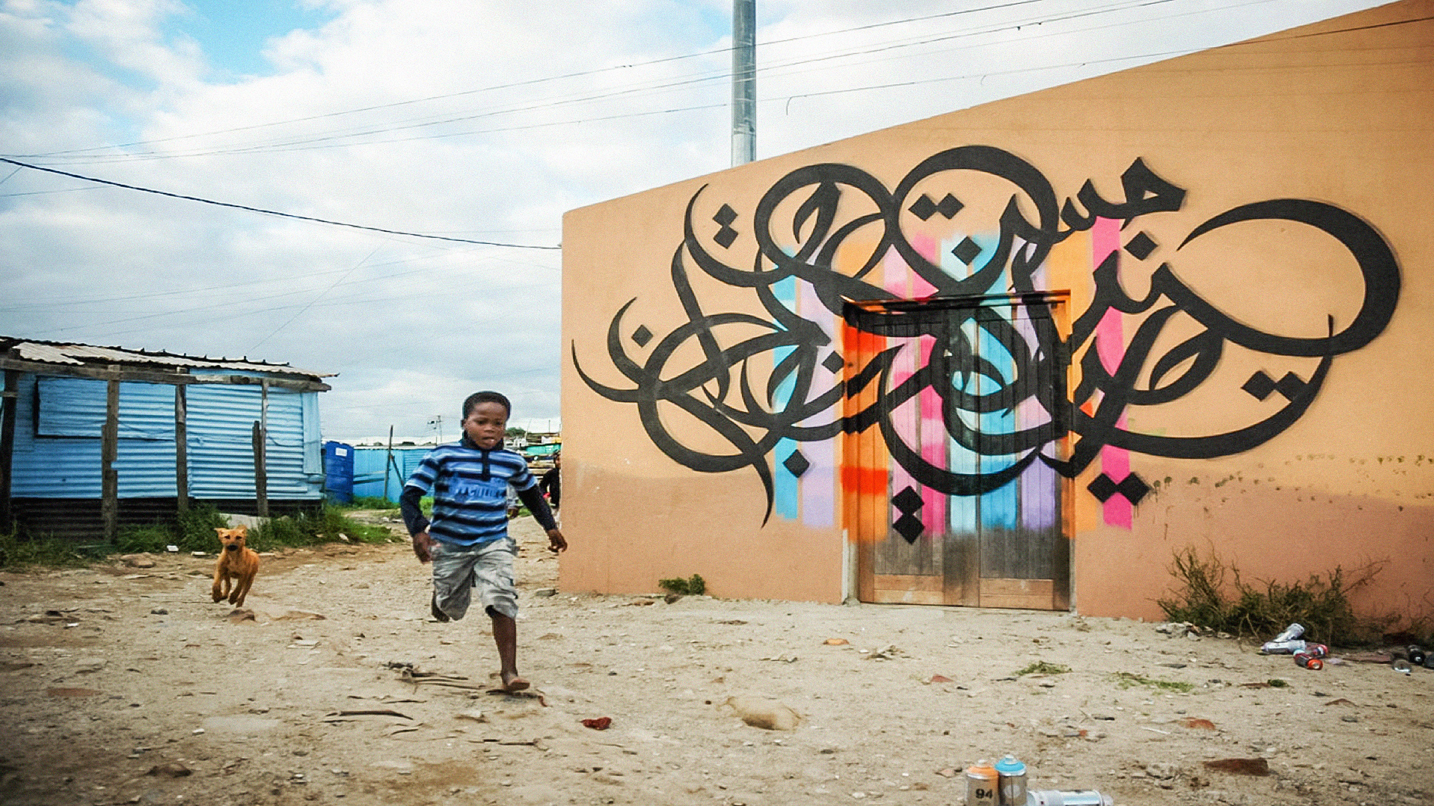 Image for eL Seed: Can The Beauty Of Arabic Calligraphy Shift Perspectives? Article