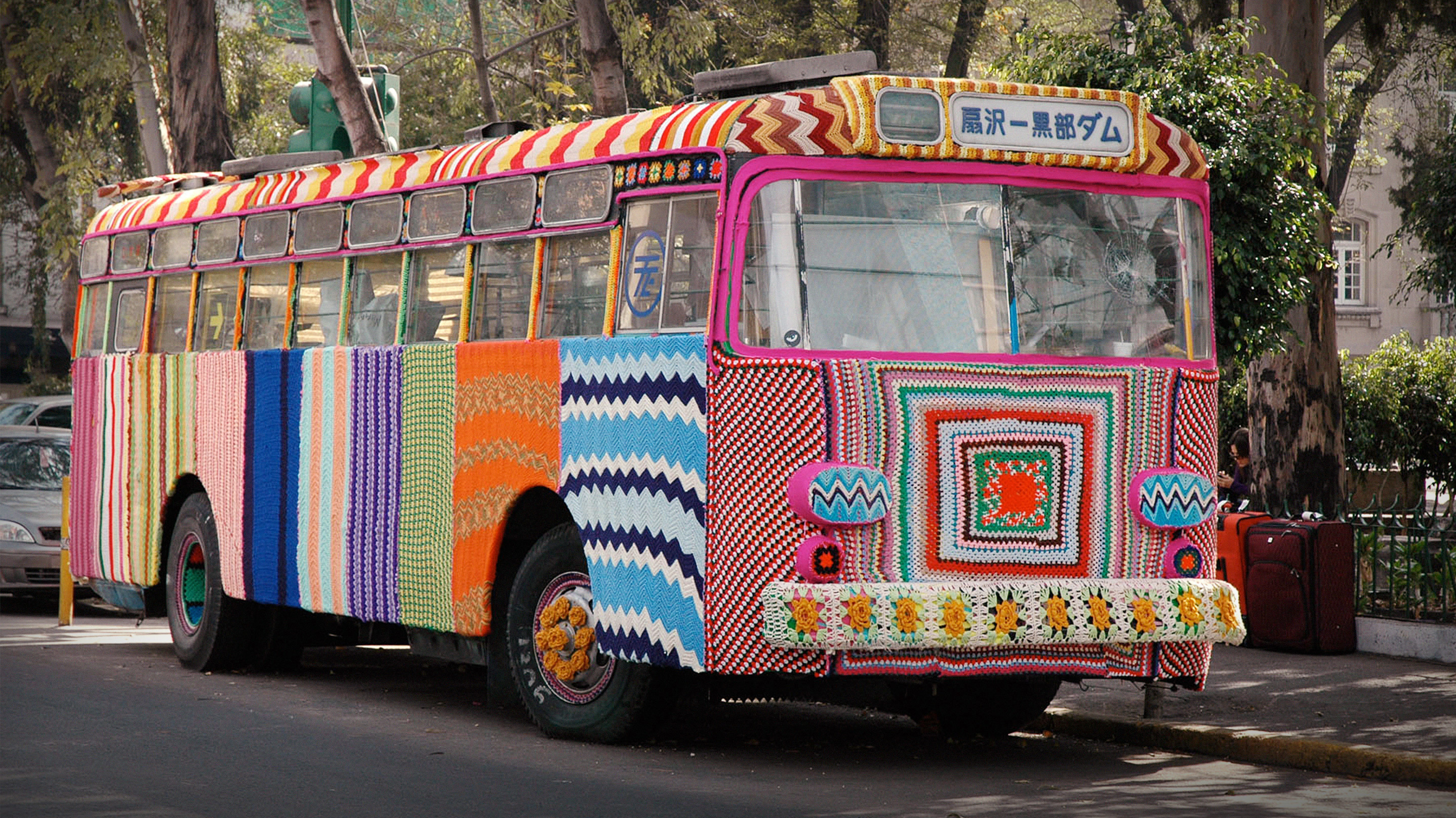 """Image for Magda Sayeg: What's The Emotional Power Behind """"Yarn Bombing""""? Article"""