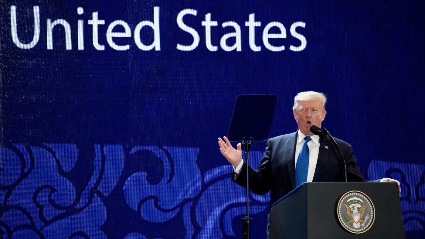 Trump Talks Tough On Trade At Summit In Vietnam