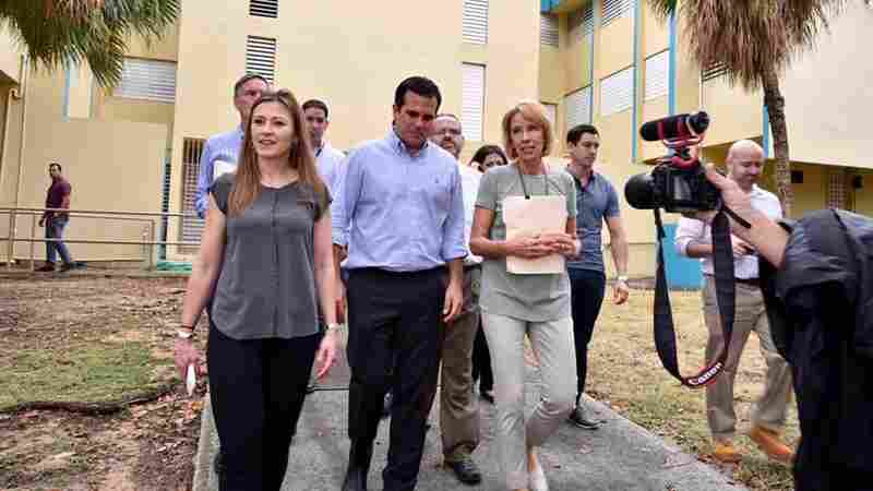 What Tax Reform Could Mean For Education; DeVos Visits Hurricane-Hit Islands