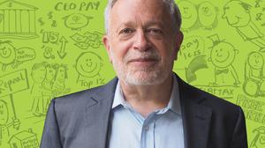 Robert Reich Shows Off His Cartooning Skills In 'Economics In Wonderland'