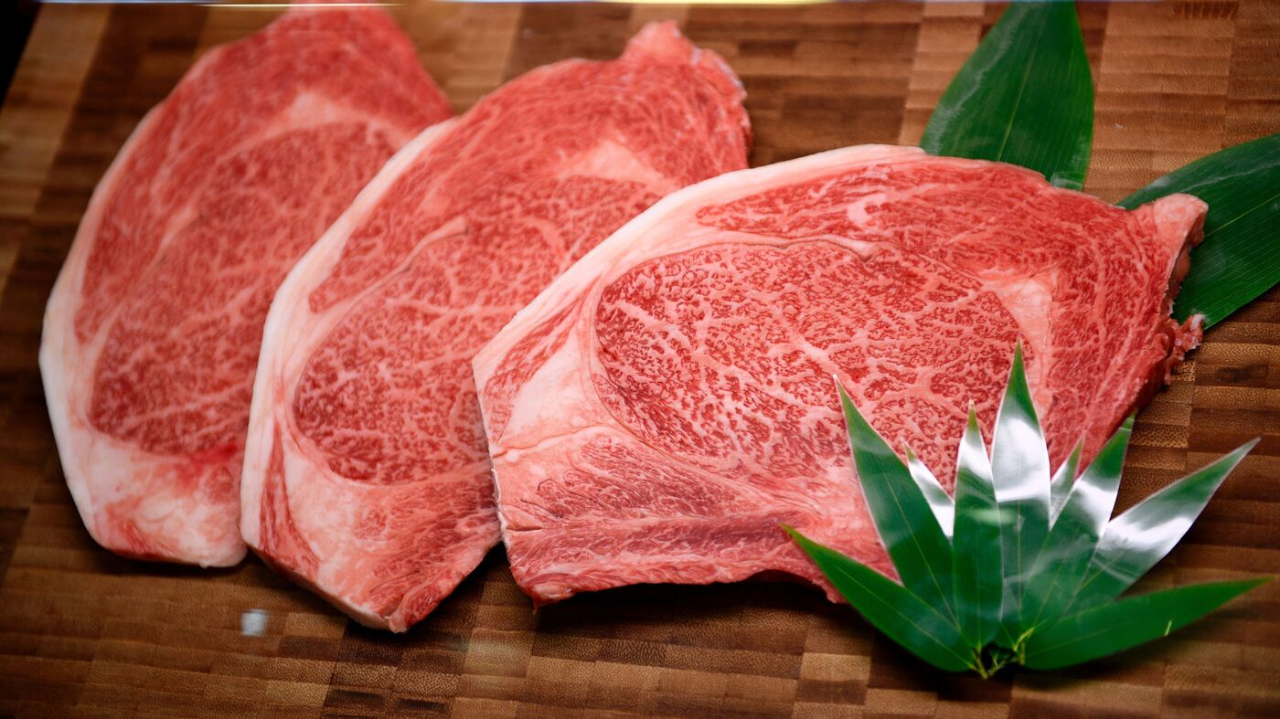 what makes wagyu beef smell so good science explains the salt npr