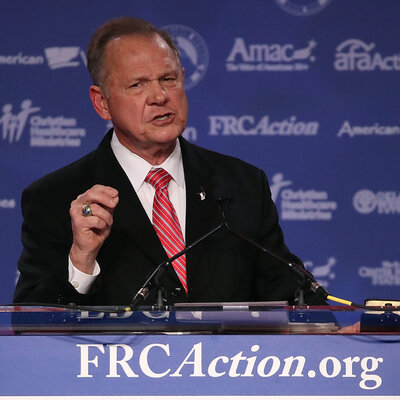 'I Have Never Engaged In Sexual Misconduct,' Moore Says In Statement