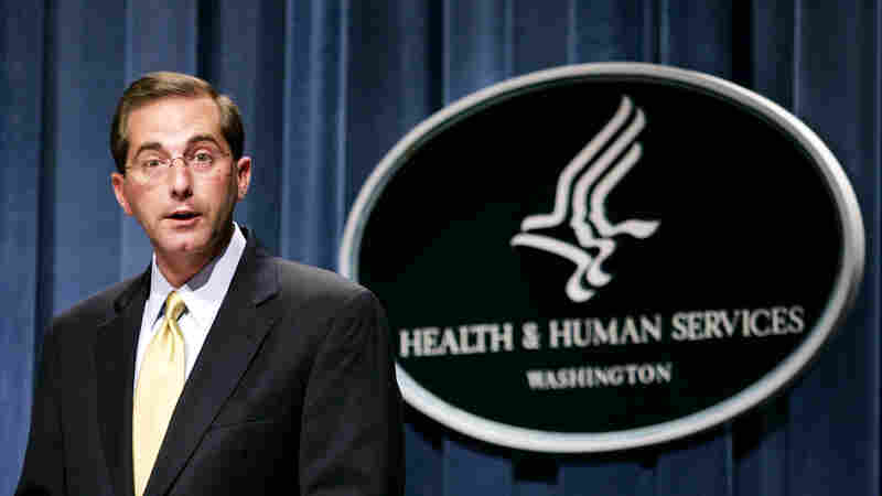 Trump Picks Alex Azar To Lead Health And Human Services