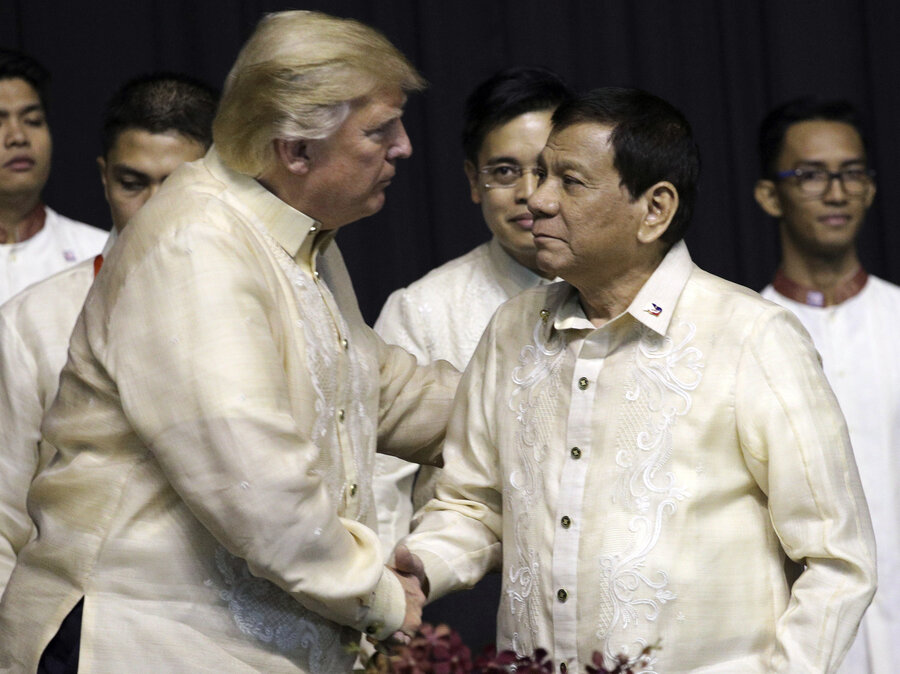 Image result for trump duterte