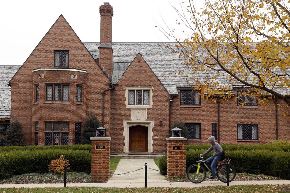 Prosecutors filed charges against 12 members of Penn State's now-shuttered Beta Theta Pi chapter and added to the already-existing charges against five others. (Gene J. Puskar/AP)