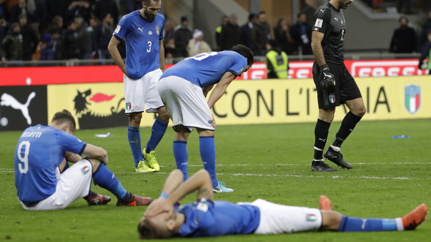 Powerhouse Italy Copes With The 'Indelible Stain' Of Missing The World Cup