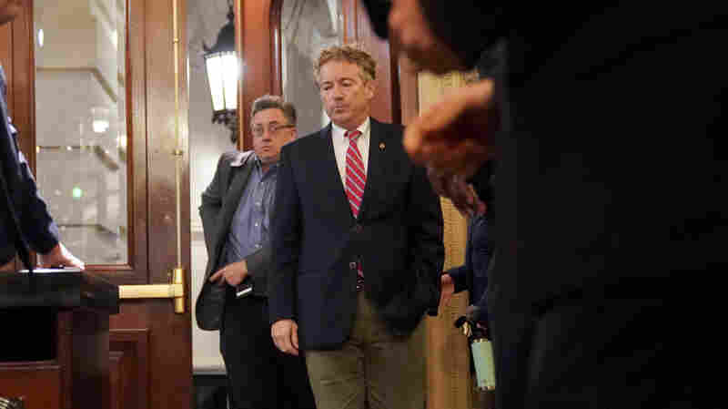 Rand Paul Returns To Senate After Being Injured In Attack By Kentucky Neighbor