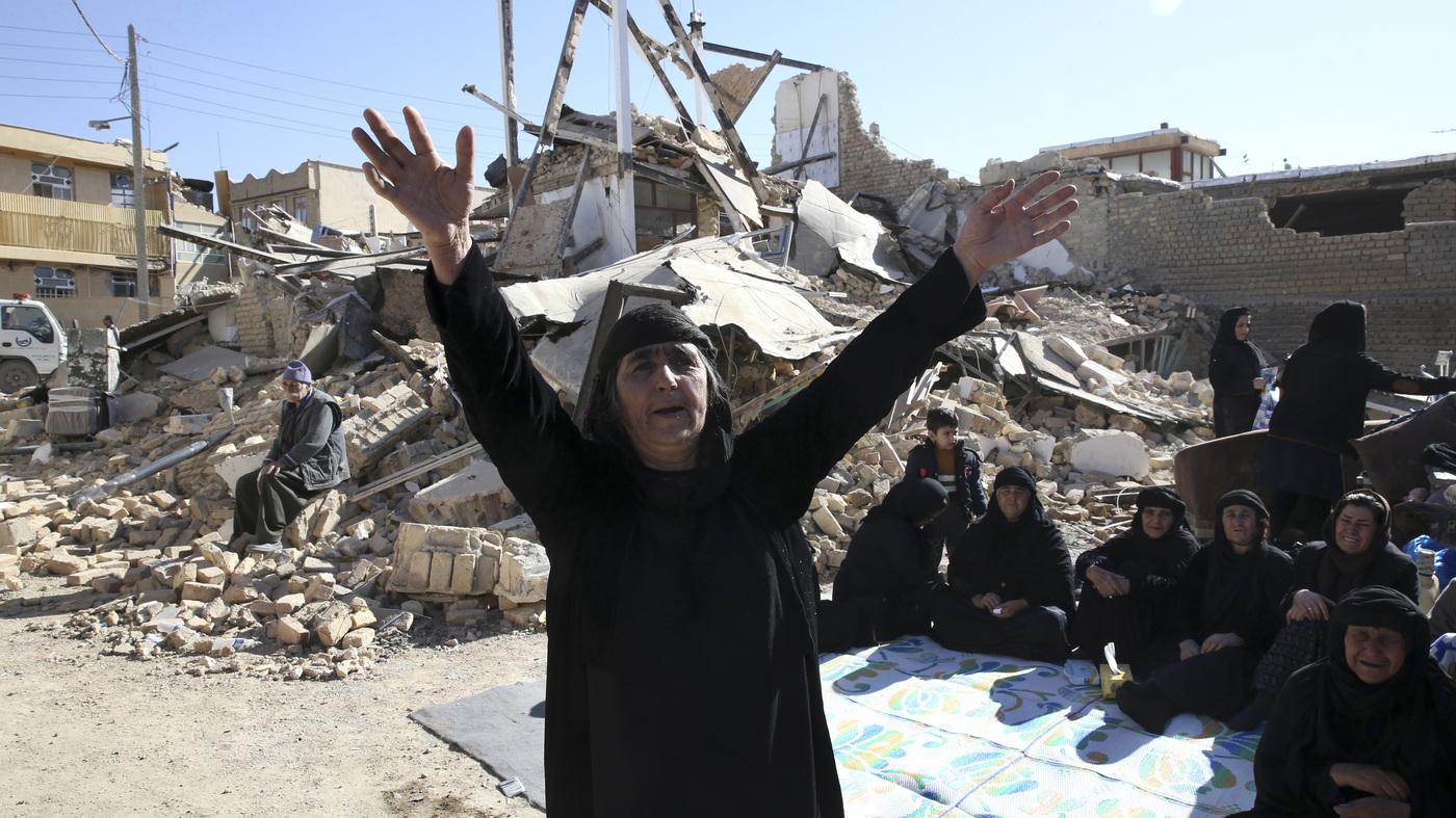 Iran Calls Off Search For Survivors In Quake-Struck Region