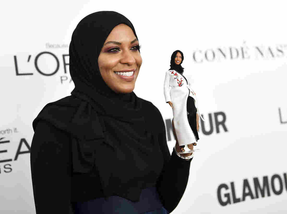 Barbie's first hijab-wearing doll honours Olympic fencer