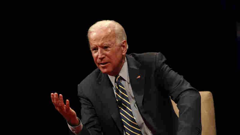 Biden Tells NPR He Has 'No Plans' To Run In 2020