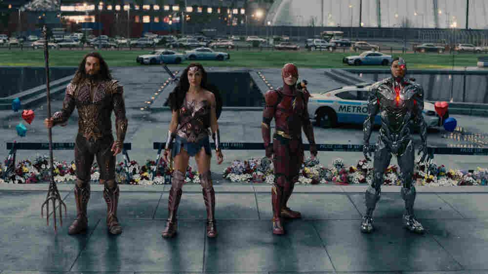 A Superteam Assembles To Talk 'Justice League'