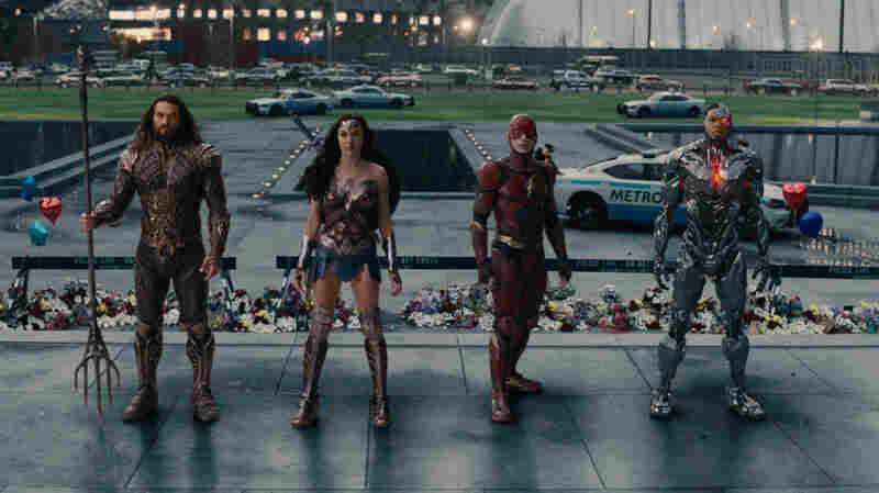 A Superteam Assembles To Talk 'Justice League'