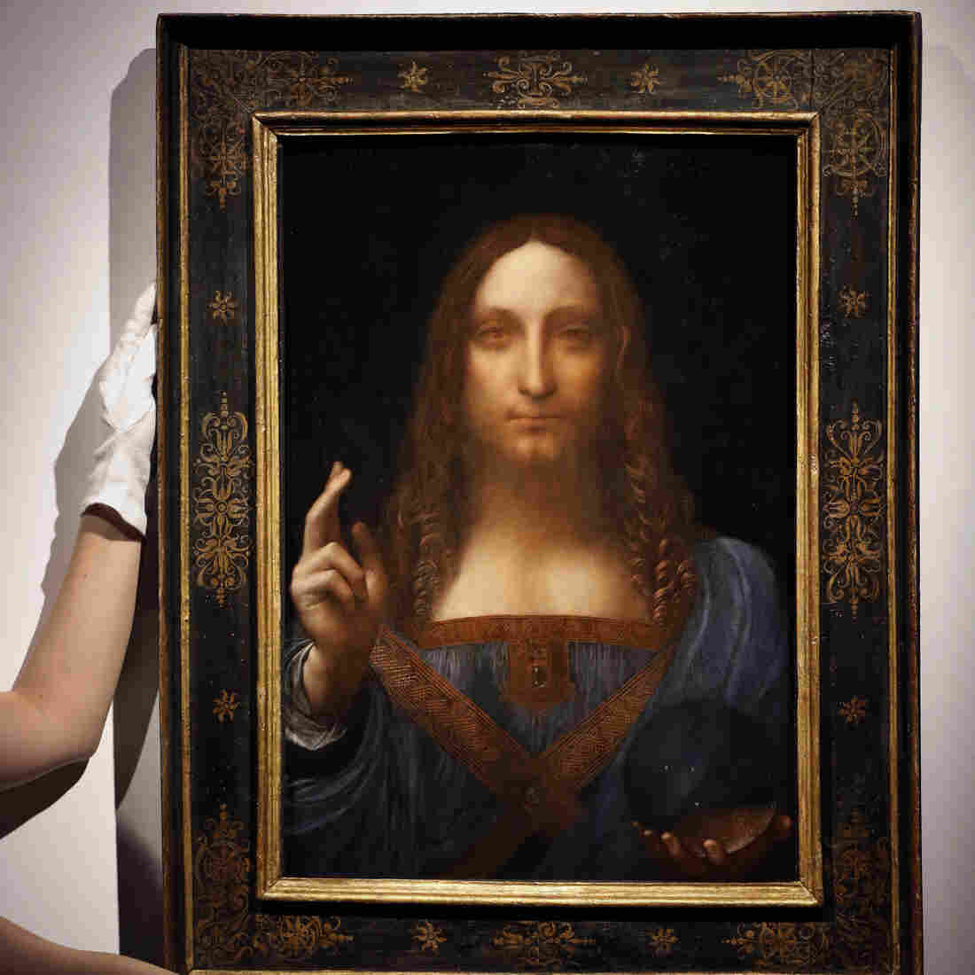 Leonardo da Vinci Painting Sells for $450.3 Million, Shattering Auction Records