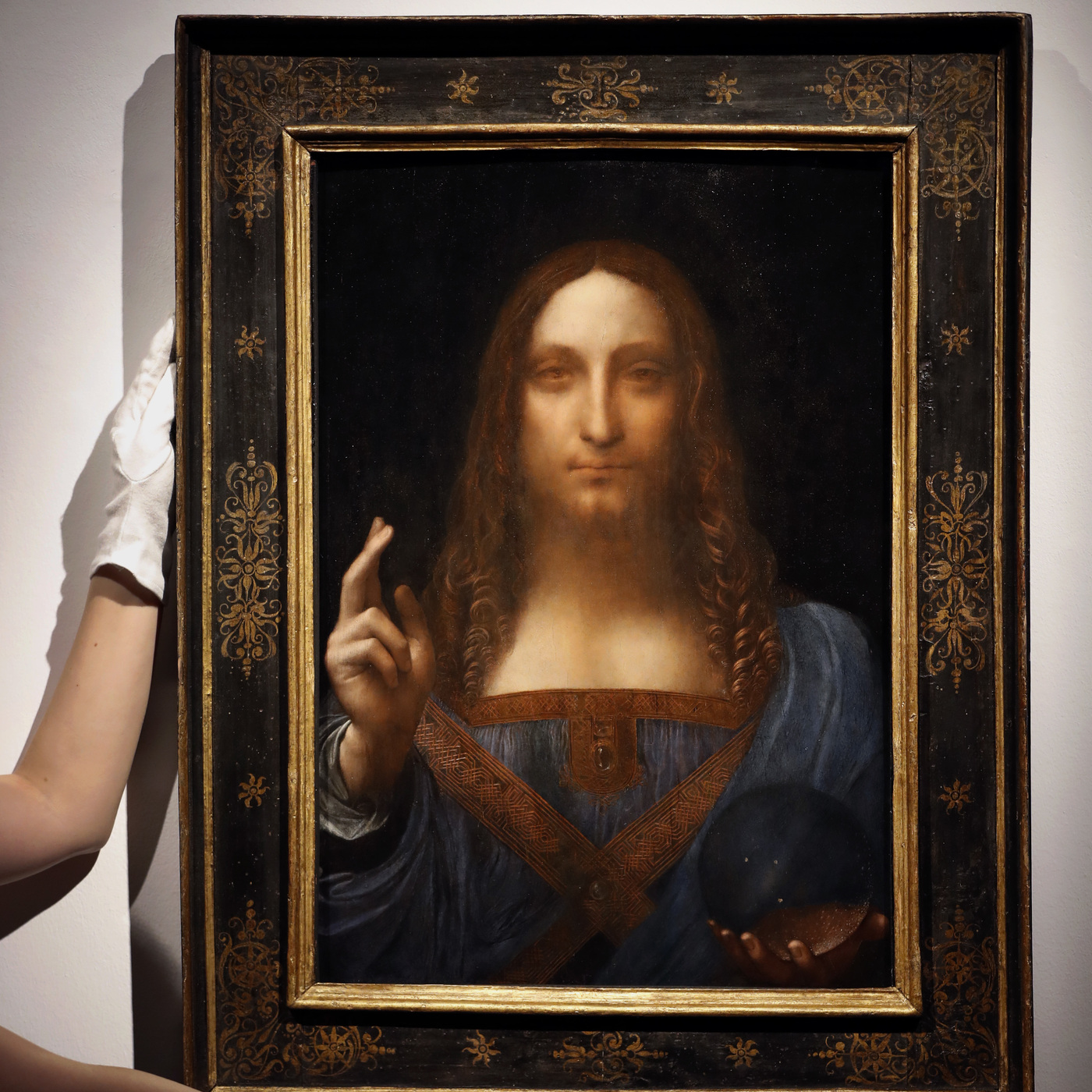 Leonardo Da Vinci Portrait Of Christ Sells For Record ... Da Vinci Paintings