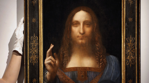 Leonardo Da Vinci Portrait Of Christ Sells For Record-Shattering $450 Million