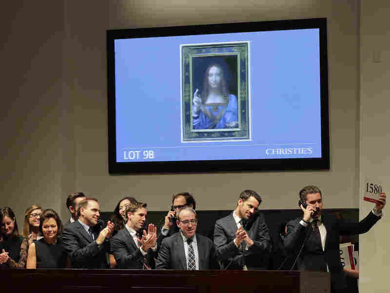 Salvator Mundi is one of only a score of Leonardo da Vinci's works still in existence and the only one held privately