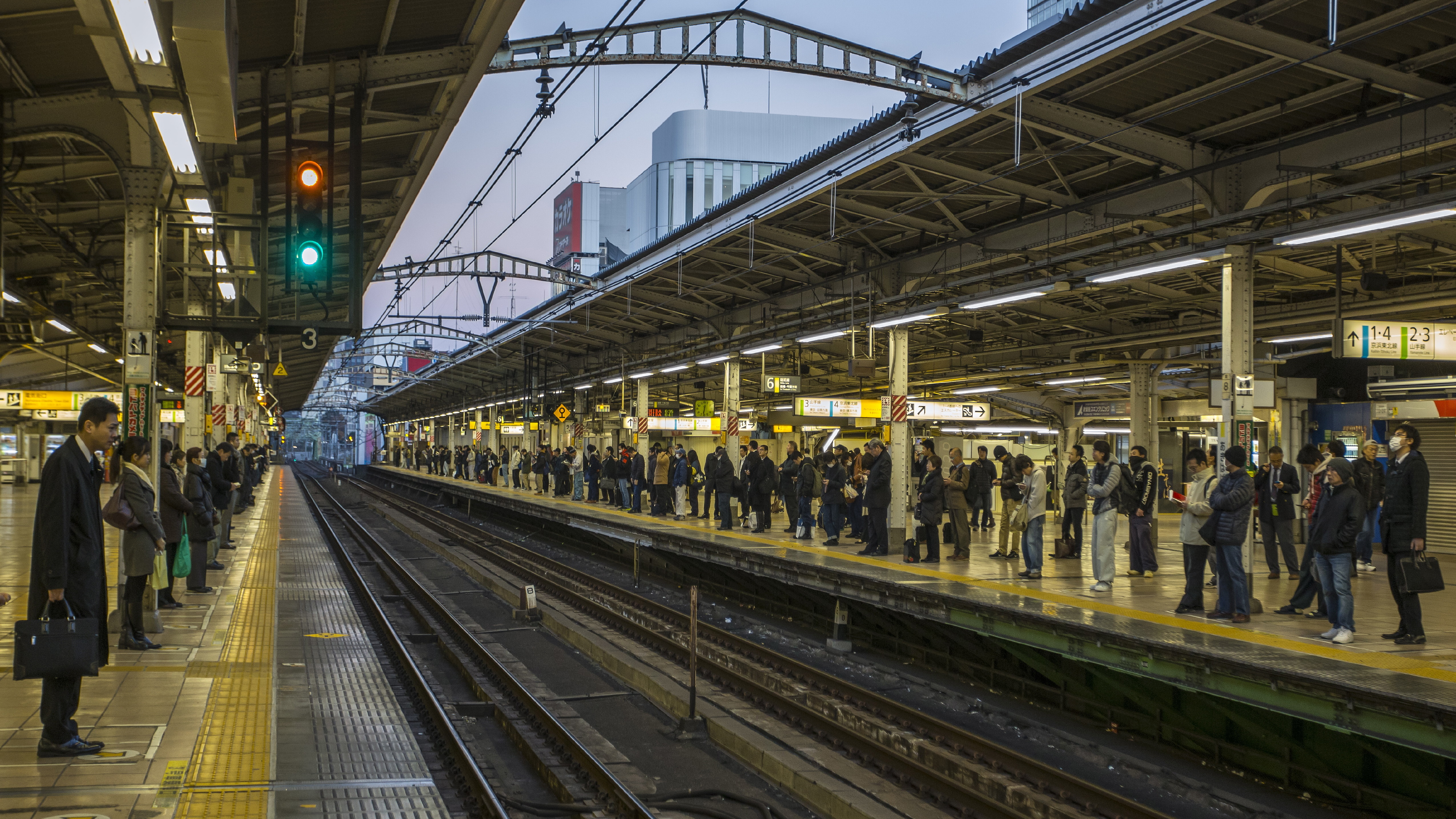 Japanese rail company apologizes after train departs 20 seconds early