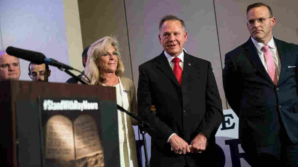 Defiant Roy Moore camp invokes Bible in targeting accusers