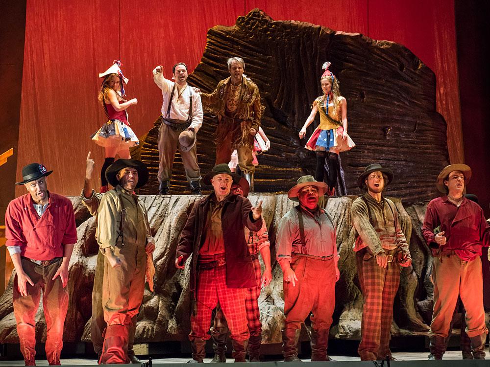 Panning For Gold And Self-Awareness In John Adams' New Opera