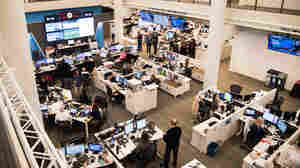 Chairman Steps Down As NPR Grapples With Harassment Crisis
