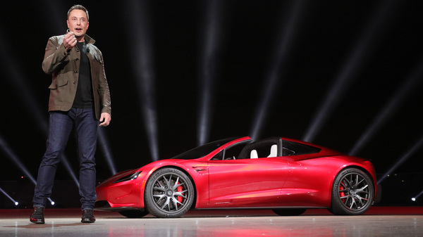 a new Roadster super car with a top speed above 250 mph.