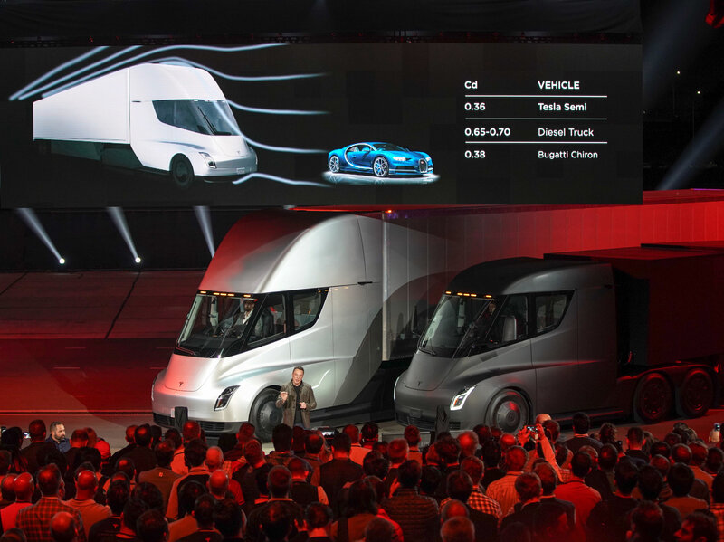 Tesla Unveils Its Electric Semi Truck And Adds A Roadster