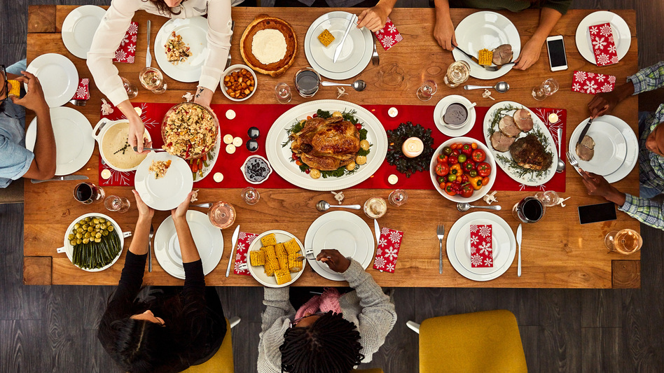 Lots of families fight over politics at the holiday table. But decisions about which foods to put on the table can whip up stress and squabbles, too.