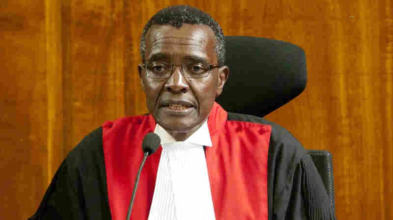 Kenya's Supreme Court Affirms Re-Election Of Uhuru Kenyatta
