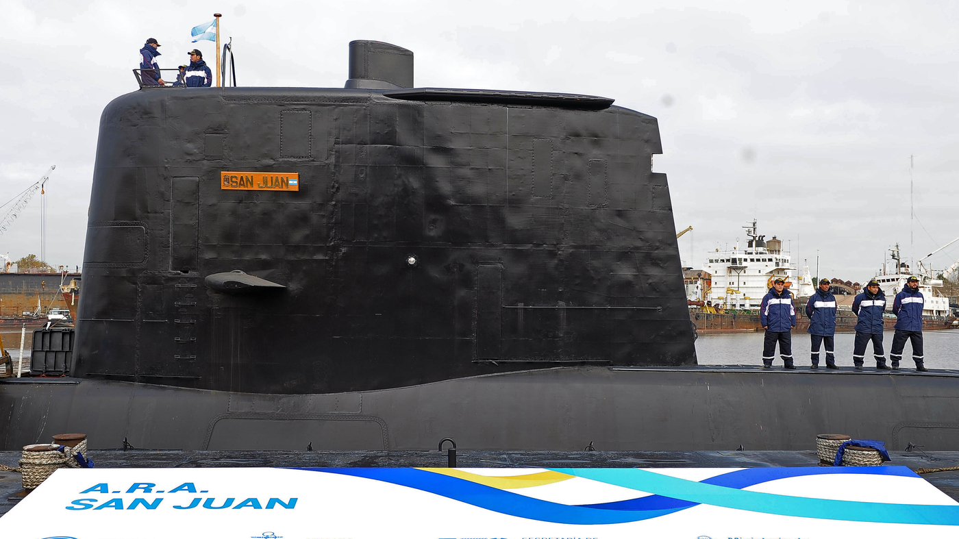 Bad Weather Hampers Search For Missing Argentine Submarine