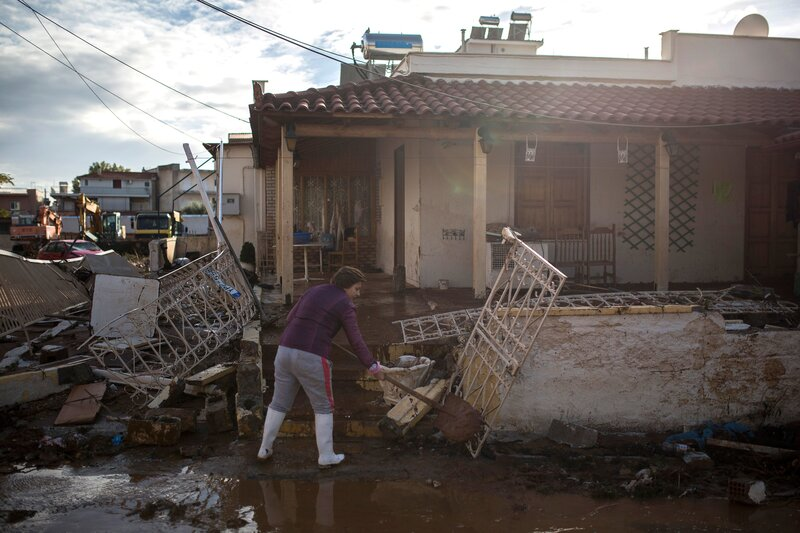 Greece Was Hit By Storm Some Called A 'Medicane ' What's