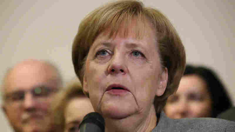Future Of Germany's Merkel In Doubt As Coalition Talks Collapse