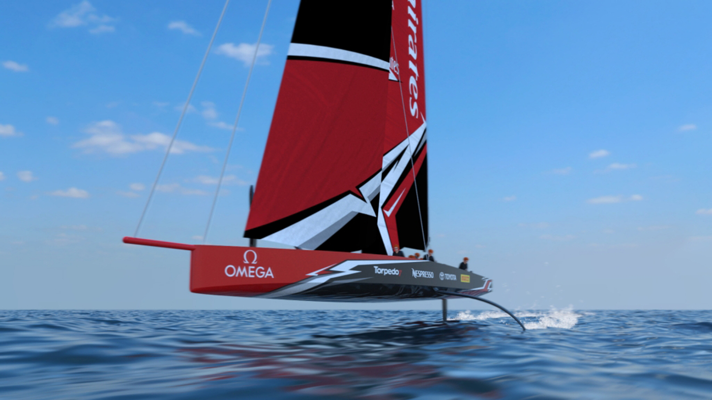 America's Cup Race Gets A Radical New Single-Hulled Boat