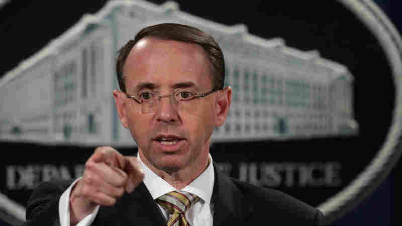 Deputy Attorney General Rosenstein Supervises Mueller Probe But He's Also A Witness