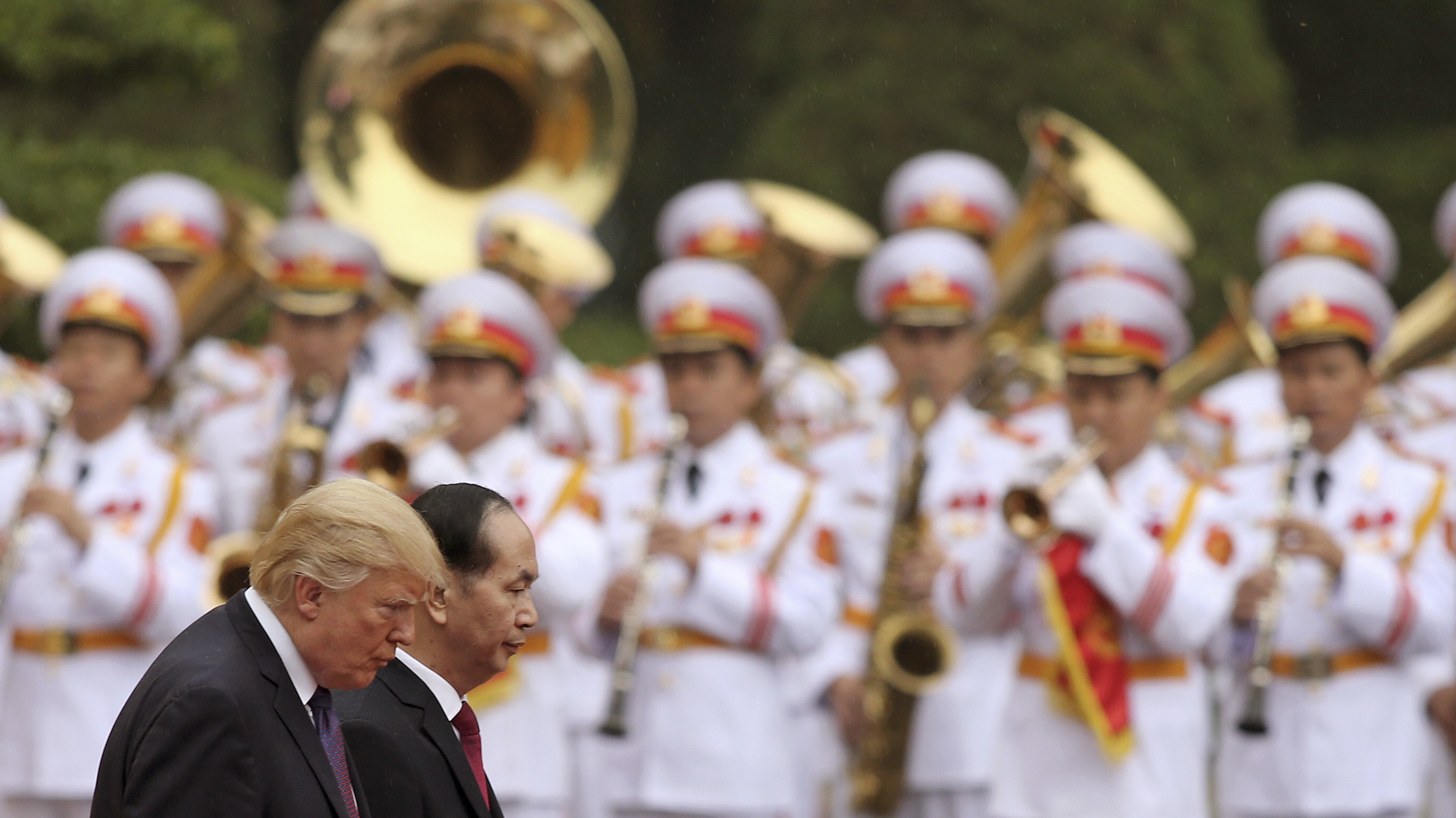 Military Staff Removed From White House After 'Incident' On Trump's Asia Trip