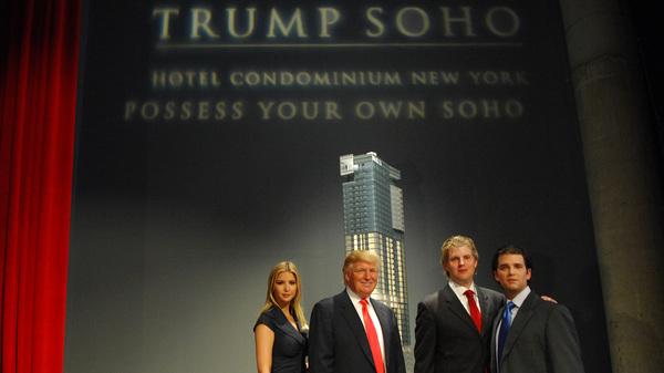 Trump Organization Cuts Ties To Controversial SoHo Hotel