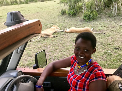 Female Safari Guide: 'I Am A Lady But I Am Telling You, I Am Capable'