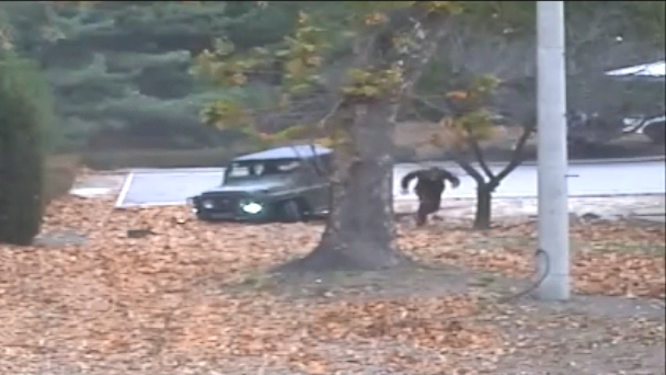 Video Shows North Korean Soldier's Dramatic Sprint Across Border
